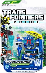 Transformers Prime Cyberverse Commander Action Figure Ultra Magnus