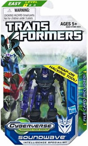 Transformers Prime Cyberverse Legion Action Figure Soundwave