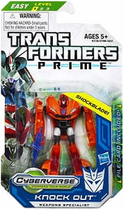 Transformers Prime Cyberverse Legion Action Figure Knock Out