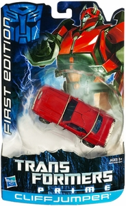 Transformers Prime Deluxe Action Figure Cliff Jumper [First Edition]