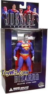 DC Direct Justice League Alex Ross Series 1 Action Figure Bizarro