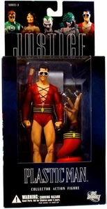 DC Direct Justice League Alex Ross Series 3 Action Figure Plastic Man