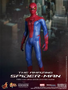 Amazing Spider-Man Hot Toys Movie 1/6 Scale Collectible Figure Spider-Man New!