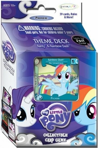 My Little Pony Enterplay Collectible Card Game Rarity & Rainbow Dash Premiere Theme Deck [59 Cards]