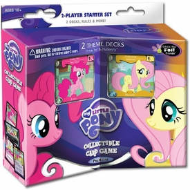 My Little Pony Enterplay Collectible Card Game 2 Player Fluttershy & Pinkie Pie Premiere Starter Deck Set Hot!