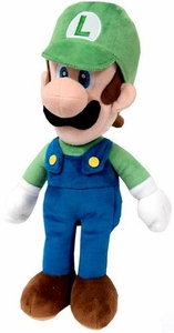 Super Mario Brothers 16 Inch Plush Luigi