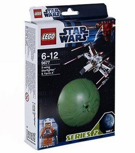 LEGO Star Wars Set #9677 X-Wing Starfighter & Yavin 4k