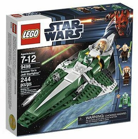 LEGO Star Wars Set #9498 Saesee Tiin's Jedi Starfighter