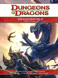 Dungeons & Dragons Draconomicon Volume 2 Metallic Dragons