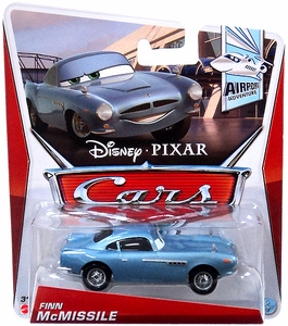Disney / Pixar CARS Movie 1:55 Die Cast Car Finn McMissile [Airport Adventure 5/6]