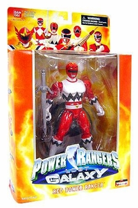 Power Rangers Deluxe Collector Figure Lost Galaxy Red Ranger