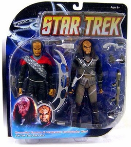Diamond Select Toys Deep Space 9 Action Figure 2-Pack Worf & Gowron