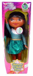 Dora the Explorer Dora Saves The Snow Princess 12 Inch Figure Shimmer & Skate Dora