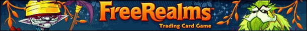 Free Realms MMORPG Trading Card Game
