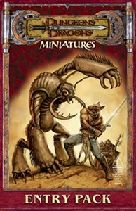 Dungeons & Dragons Miniatures Entry Pack