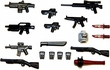 BrickArms Minifigure Weapons & Gear
