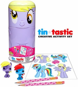 Funko My Little Pony Tin-Tastic Creative Activity Set Derpy