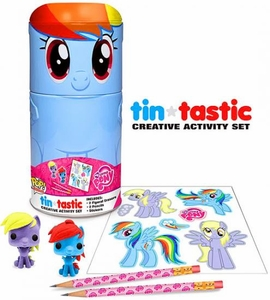 Funko My Little Pony Tin-Tastic Creative Activity Set Rainbow Dash