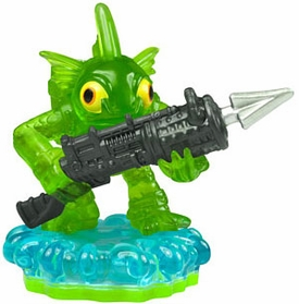 Skylanders Exclusive LOOSE Figure TRANSLUCENT GREEN ARMOR Gill Grunt [Limited Edition]