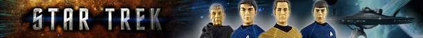 Star Trek Actions Figures, Star Trek Movie Toys, Phasers & More!
