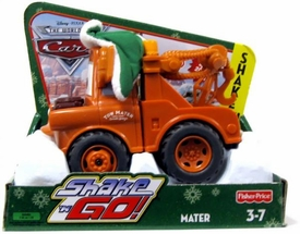 Disney / Pixar CARS Movie Shake n' Go Toy Figure Christmas Mater