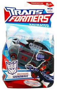 Transformers Animated Deluxe Figure Electrostatic Soundwave