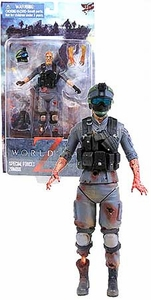 World War Z Movie 6 Inch Action Figure Soldier Zombie Pre-Order ships April