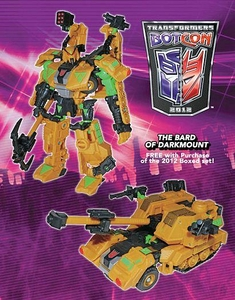 Transformers Botcon 2012 Exclusive Action Figure Spraxus