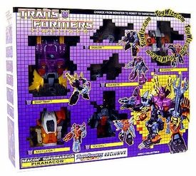 Transformers Timelines Collectors Club Exclusive Seacon Superwarrior Piranacon Set