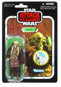 Star Wars 2010 OR 2011 Vintage Collection Action Figure #29 Kit Fisto [Package May Differ, Same Exact Figure Inside!]