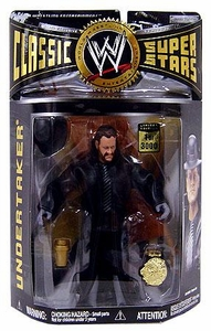 WWE Wrestling Classic Superstars Exclusive Limited Edition Action Figure Undertaker [Early Career with Real Beard] Only 3,000 Made!