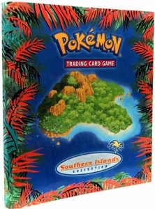 Pokemon Card Game Supplies 9-Pocket Binder Southern Islands Collection