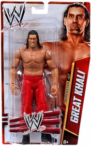 Mattel WWE Wrestling Basic Series 33 Action Figure #57 Great Khali