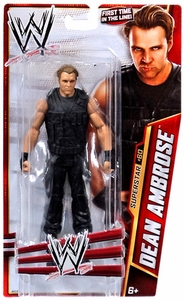 Mattel WWE Wrestling Basic Series 33 Action Figure #60 Dean Ambrose {The Shield}