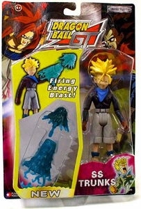 Dragon Ball GT Series 3 Action Figure SS Trunks [Firing Energy Blast!]