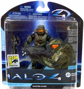 McFarlane Toys Halo 4 2012 SDCC San Diego Comic Con Exclusive Action Figure Master Chief