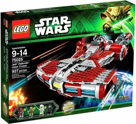 LEGO Star Wars Set #75025 Jedi Defender Class Cruiser
