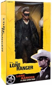 NECA Lone Ranger Movie Quarter Scale Action Figure Lone Ranger BLOWOUT SALE!