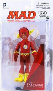 DC Collectibles MAD Just Us League of Stupid Heroes Action Figure Alfred E. Neuman As The Flash