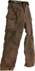 Hot Toys Expendables 2  Barney Ross LOOSE 1/6 Scale Brown Pants