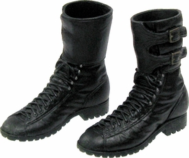 Hot Toys Expendables 2  Barney Ross LOOSE 1/6 Scale Black Combat Boots