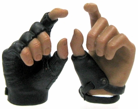 Hot Toys Expendables 2  Barney Ross LOOSE 1/6 Scale Pair of Gloved Palms for Shooting Pistols