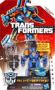 Transformers Generations Deluxe Action Figure Twintwist [Fall of Cybertron]