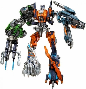 Transformers Generations Set of 5 Deluxe Action Figures Ruination [Roadbuster, Impactor, Whirl, Twintwist & Topspin]