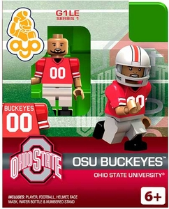 OYO College Football Building Brick Minifigure OSU Buckeyes
