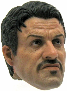 Hot Toys Expendables 2  LOOSE 1/6 Scale Barney Ross Head [Sylvester Stallone]