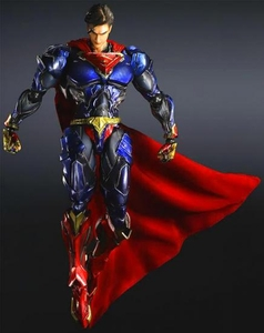 DC Universe Variant Play Arts Kai Action Figure Superman Pre-Order ships September