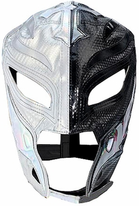 Official Rey Mysterio Kids YOUTH Replica Half Mask Silver & Black
