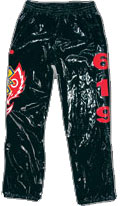 Official Kids Size Rey Mysterio Replica Pants [Black]