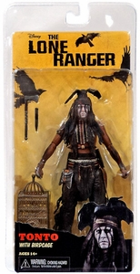NECA Lone Ranger Movie Series 2 Action Figure Tonto & Birdcage [Johnny Depp] BLOWOUT SALE!